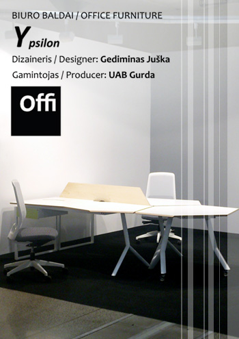 "31/03/2015 Office systems furniture ""Ypsilon"""